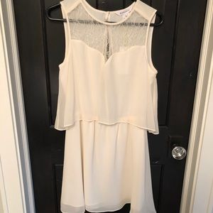 White BCBGeneration Dress Size M